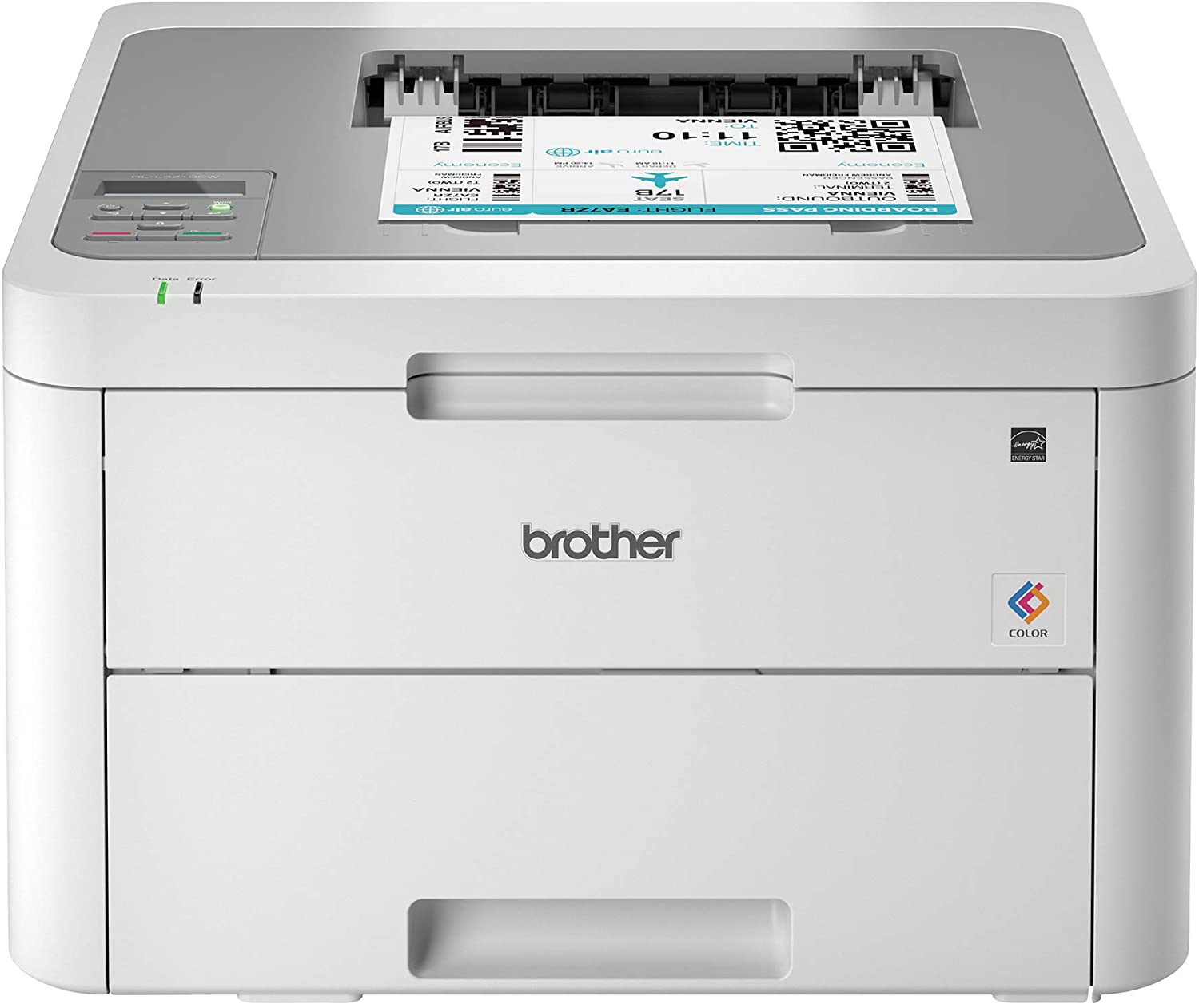 Brother HL-L3210CW Compact Digital Color Printer Providing Laser Printer Quality Results with Wireless, Amazon Dash Replenishment Ready, White uk reviews