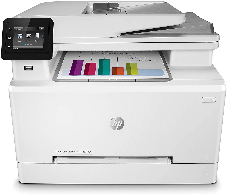 HP Colour LaserJet Pro M283fdw Multi-Function Printer, BEST ALL IN ONE PRINTER uk reviews