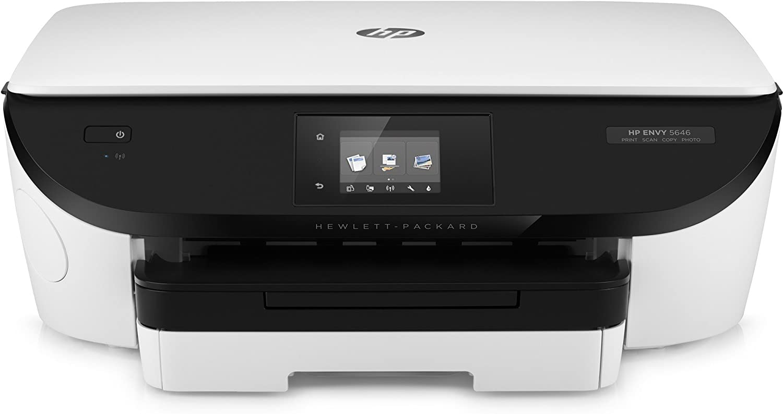 HP Envy 5646 e-All-in-One Inkjet A4 Wifi White – Multifunction printer, Best Inkjet Printer uk reviews