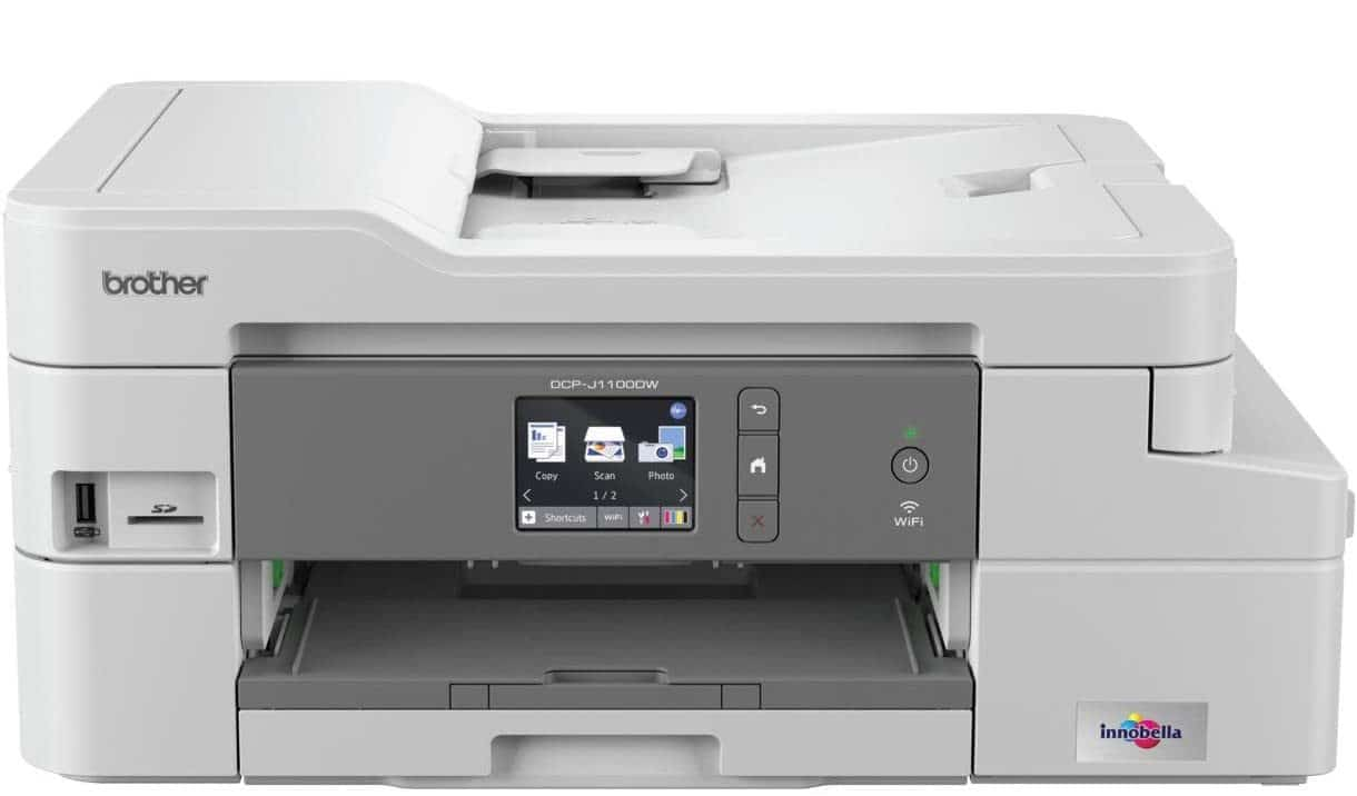 Brother DCP-J1100DW 'All in Box Bundle' Colour Inkjet Printer - All-in-One, Wireless,USB 2.0, Printer,Scanner,Copier, 2 Sided Printing, A4 Printer, Up To 3 Years' Worth Of Printing uk reviews