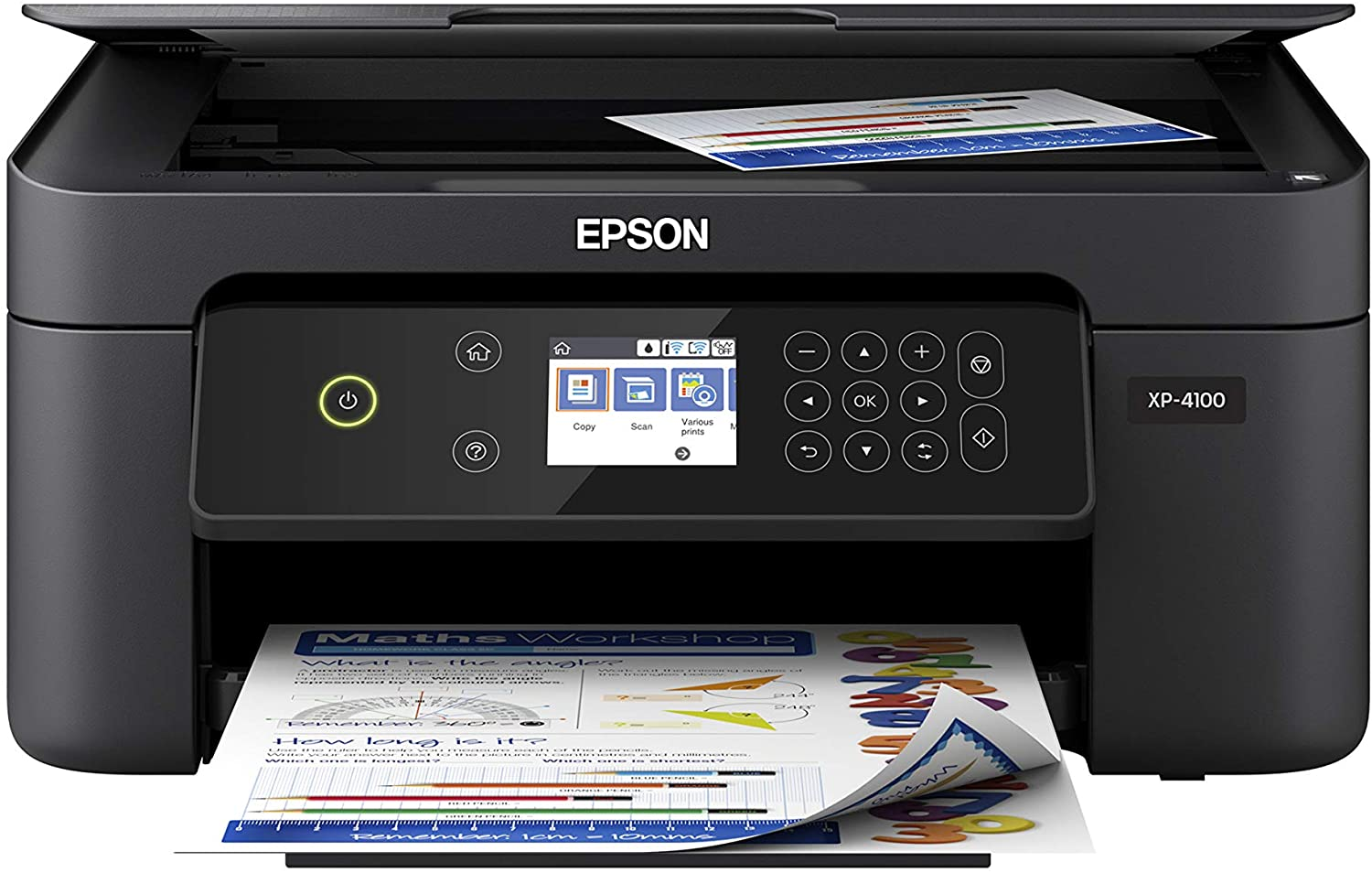 Epson Expression Home XP-4100 Wireless Color Printer with Scanner and Copier uk reviews