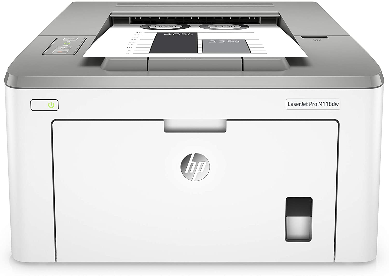 HP LaserJet Pro M118dw (4PA39A0) A4 Wireless Mono Laser Printer with Wi-Fi® Direct Printing - White uk reviews