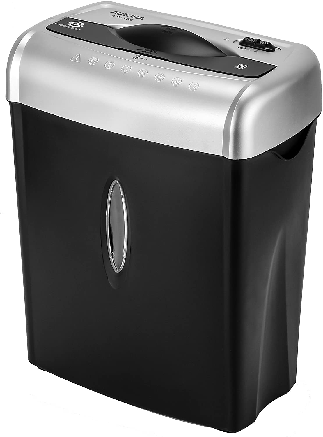 Aurora AS610C 6 Sheet Cross-Cut Shredder with Waste Bin uk reviews