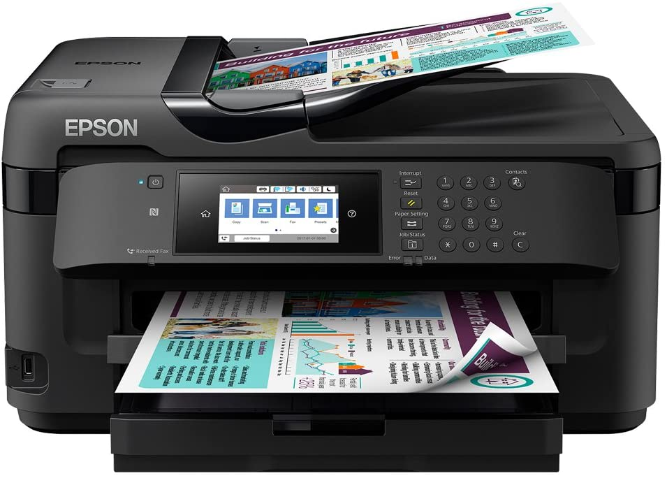 Epson WorkForce WF-7710DWF printer reviews uk