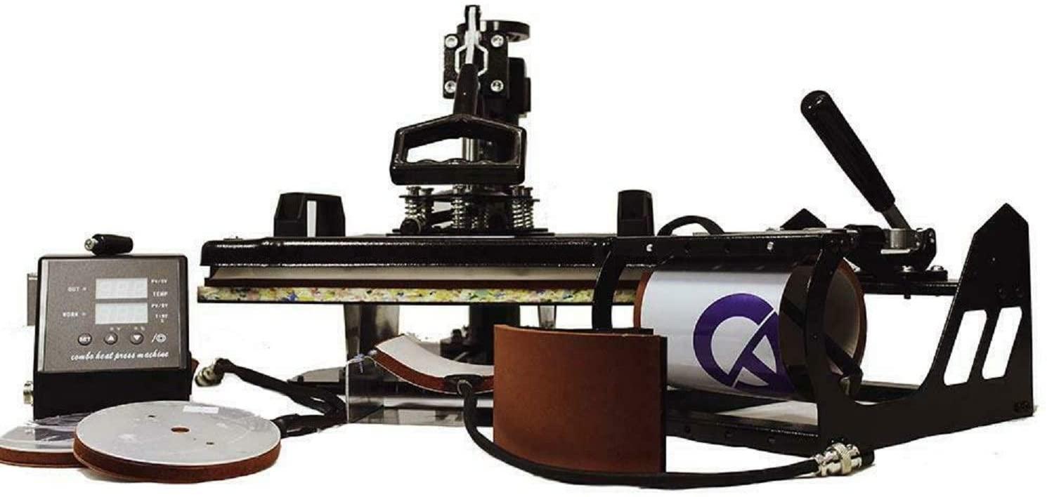 SeeprintX 5 in 1 Heat Press 12 x 15 printer reviews uk