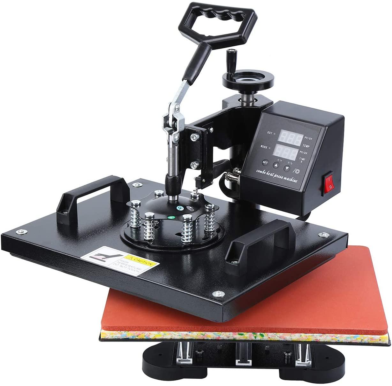 MuGuang 8 in 1 Heat Press printer reviews uk