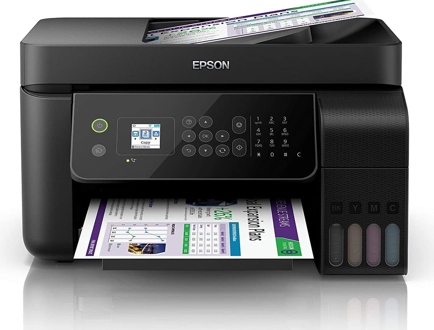 Epson EcoTank ET-4700 A4 Print Scan Copy Fax Wi-Fi Printer, Black uk reviews