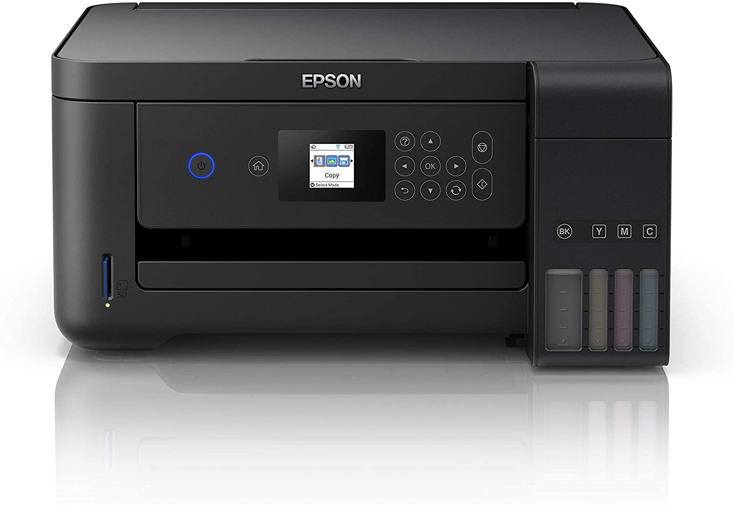 Epson EcoTank ET-2750B A4 Print Scan Copy Wi-Fi Printer best epson ecotank printer, Black + 2 Years Unlimited Printing Card uk reviews