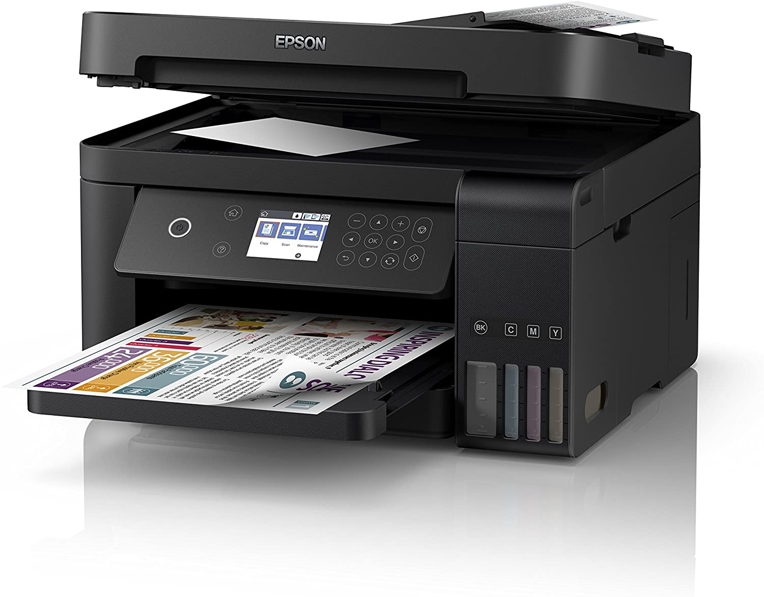 Epson EcoTank ET-3750 A4 Print Scan Copy Wi-Fi Printer uk reviews