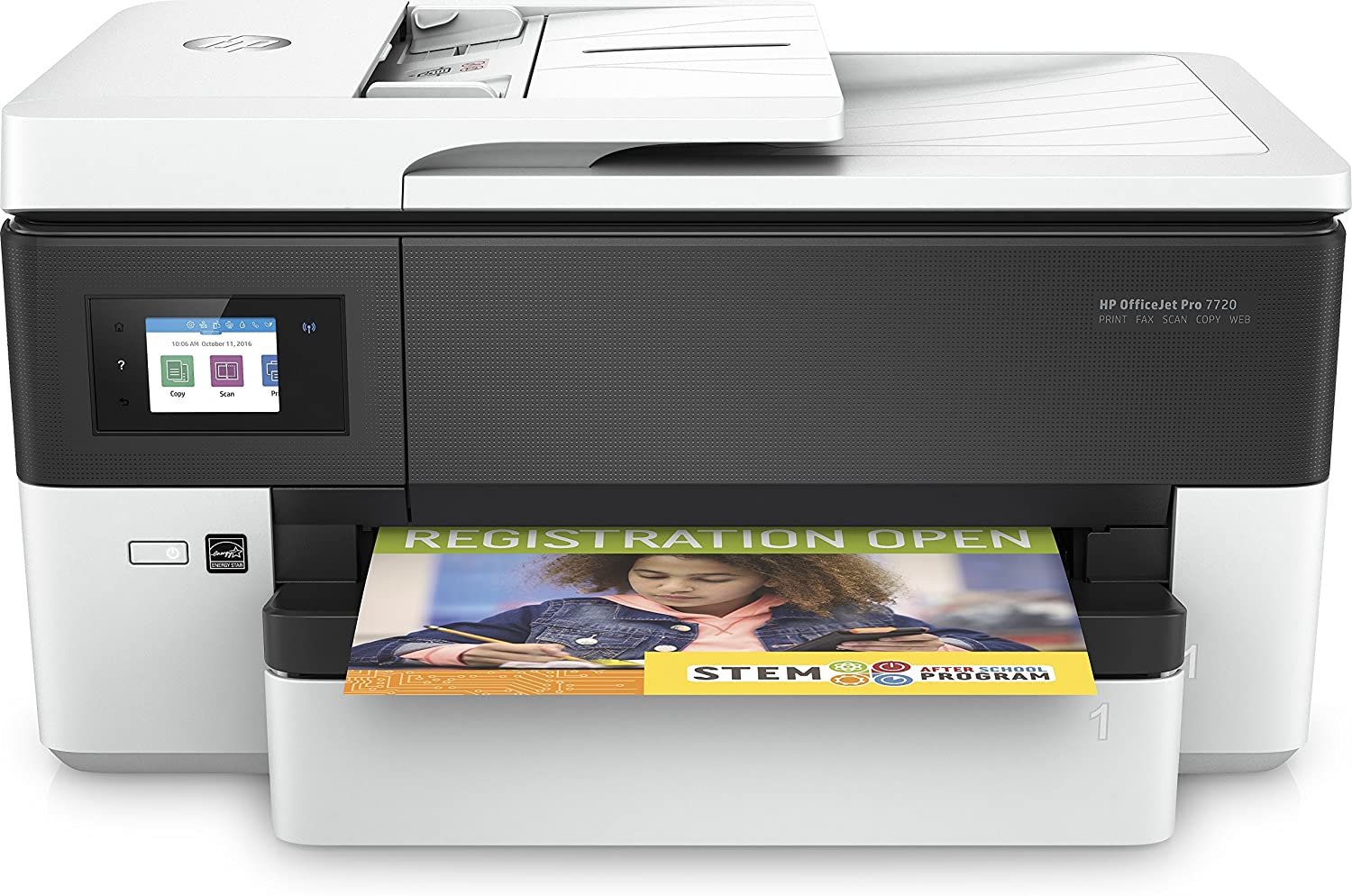 HP Officejet Pro 7720 (Y0S18A#A80) Multifunction Wi-Fi Thermal Inkjet Colour Printer, upto 34 ppm - White uk reviews
