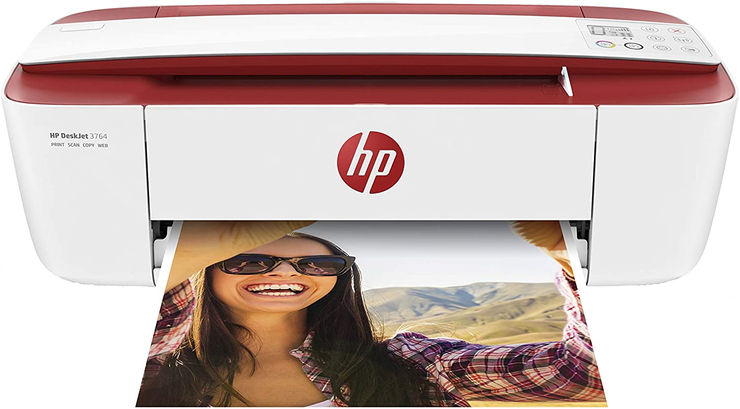 HP DeskJet 3764 All-in-One Printer, Instant Ink with 2 Months Trial Best Deskjet printers uk reviews