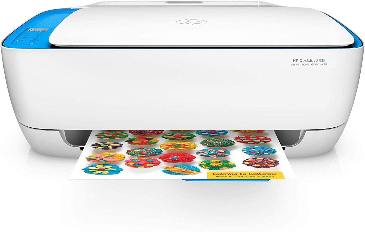 HP DeskJet 3639 Multifunction Printer (Instant Ink, Printer, Scanner, Copier, WLAN, Airprint) with 2 Sample Hours HP Instant Ink included uk reviews