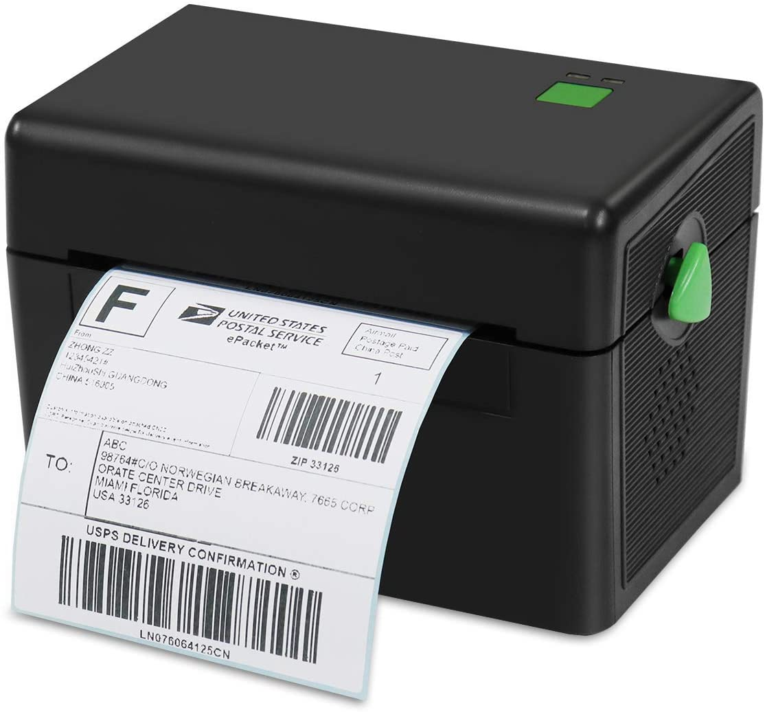 Meihengtong Thermal Label Printer, Thermal Barcode Label Maker for Shipping Express Label 4x6 Printing Compatible with Windows&Mac uk reviews