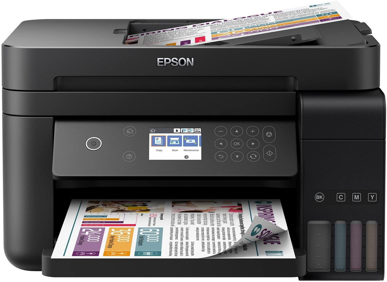 Epson EcoTank ET-3750 A4 Print Scan Copy Wi-Fi Printer, Black uk reviews