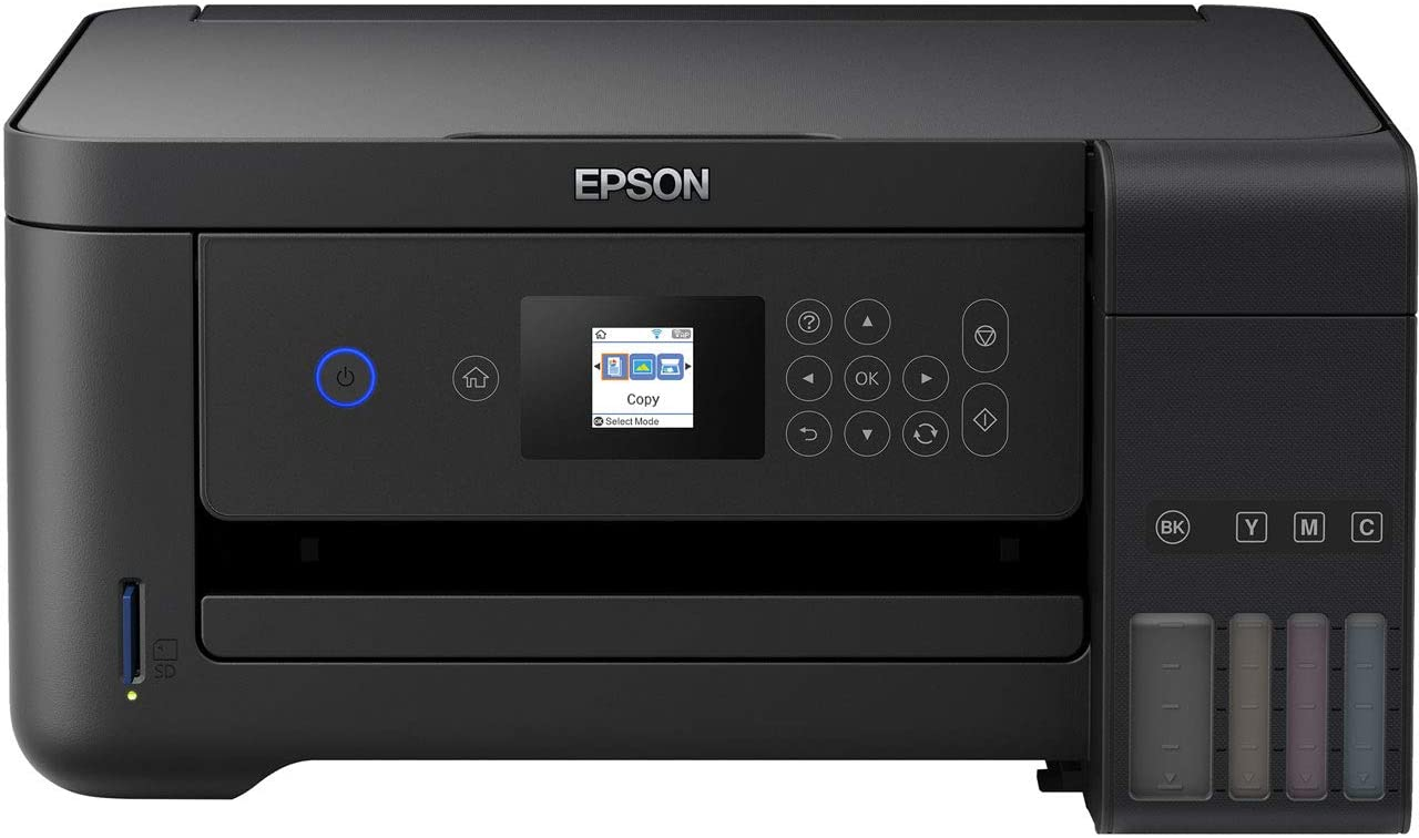 Epson EcoTank ET-2750B A4 Print Scan Copy Wi-Fi Printer, Black + 2 Years Unlimited Printing Card uk reviews