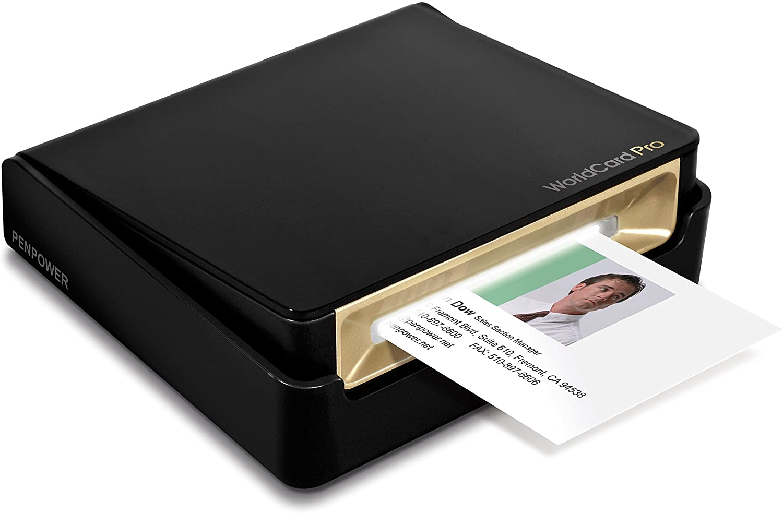 PenPower WorldCard Pro best Business Card Scanner uk reviews