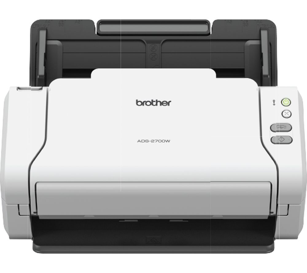 Brother ADS-2700W Document Scanner Desktop, 2 Sided Scanning, A4 Scanner, Includes AC Adapter, Document Management and Business Card Software uk reviews