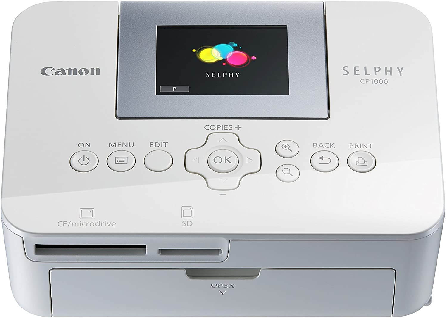 Canon SELPHY CP1000 Photo Printer, White uk reviews