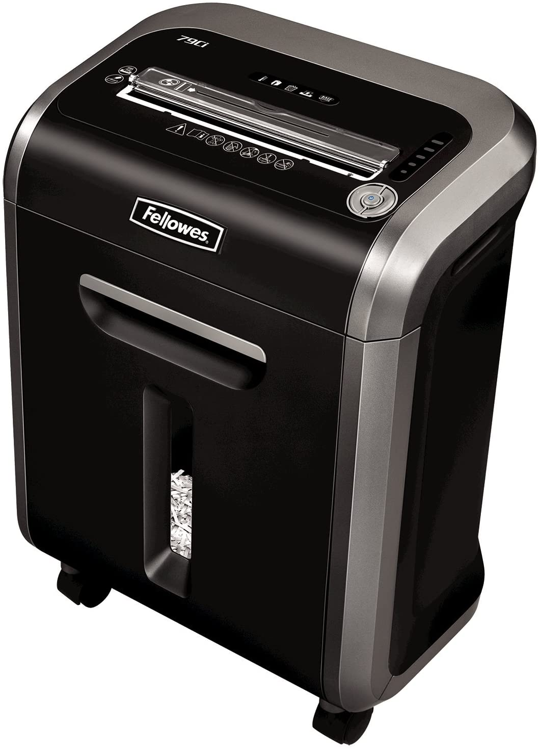 Fellowes Powershred 79Ci 16 Sheet Cross Cut Paper Shredder for the Small or Home Office with 100 Percent Jam Proof, SafeSense and Silent Shred, Black uk reviews