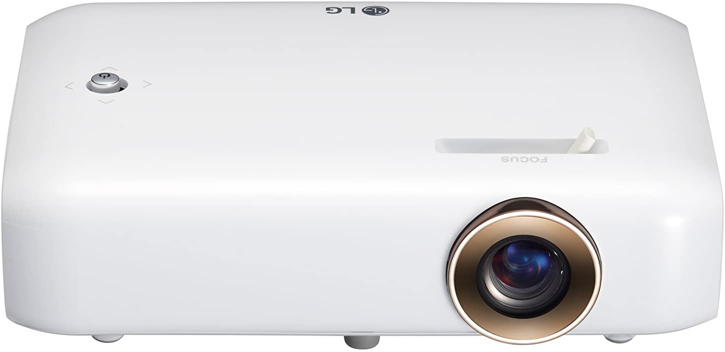 LG CineBeam PH550G Portable Projector best portable projectors uk White uk reviews