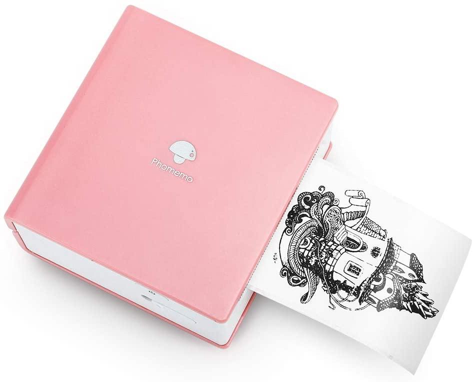 Phomemo M02 Thermal Photo Printer Mini Bluetooth Pocket Printer for Bullet Journal, Travel, Daily Plan, Pink uk reviews