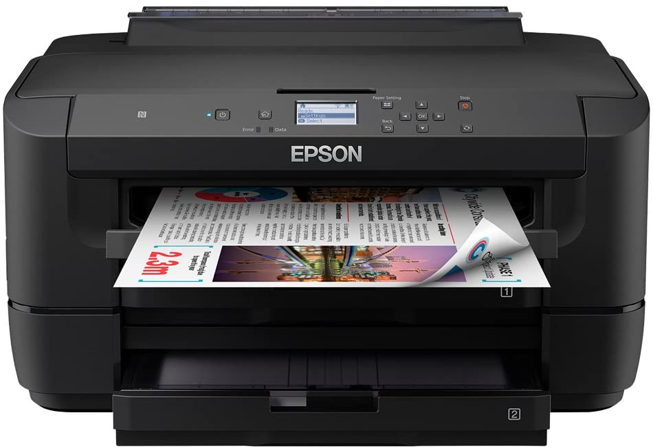 Epson WorkForce WF-7210DTW A3 Printer With Two Trays, Amazon Dash Replenishment Ready, Black uk reviews