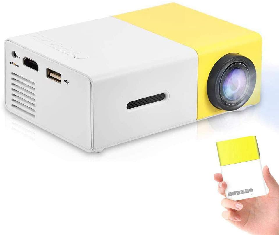 Best Mini Projector UK Portable LED Projector for Home Cinema Theater Smartphone Indoor Outdoor Pocket Projector Gift for Kids uk reviews
