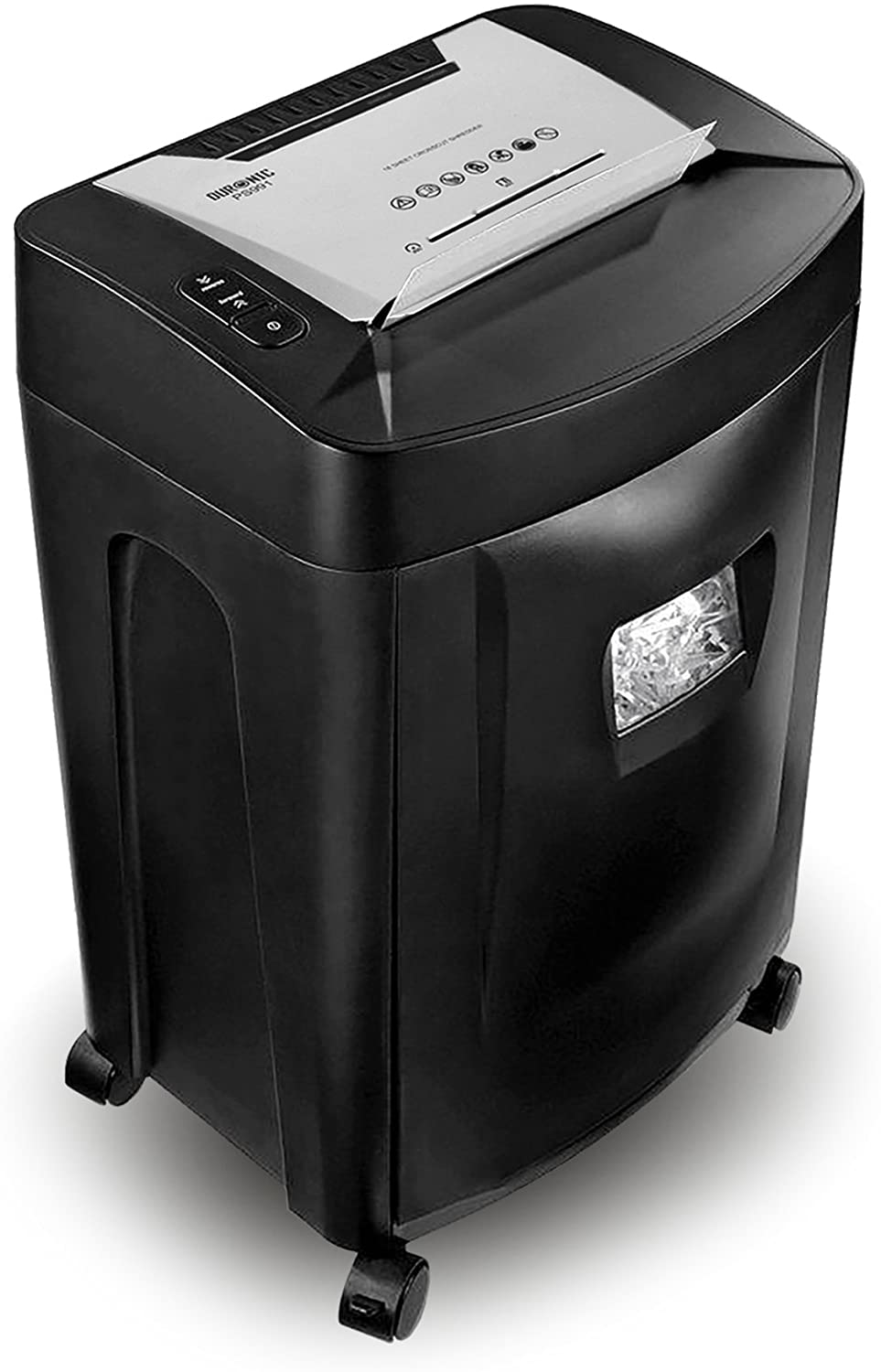 Duronic Paper Shredder PS991 18 X A4 Sheets at a Time Destroys Credit Cards & CDs Cross Cut Electric Shredder uk reviews