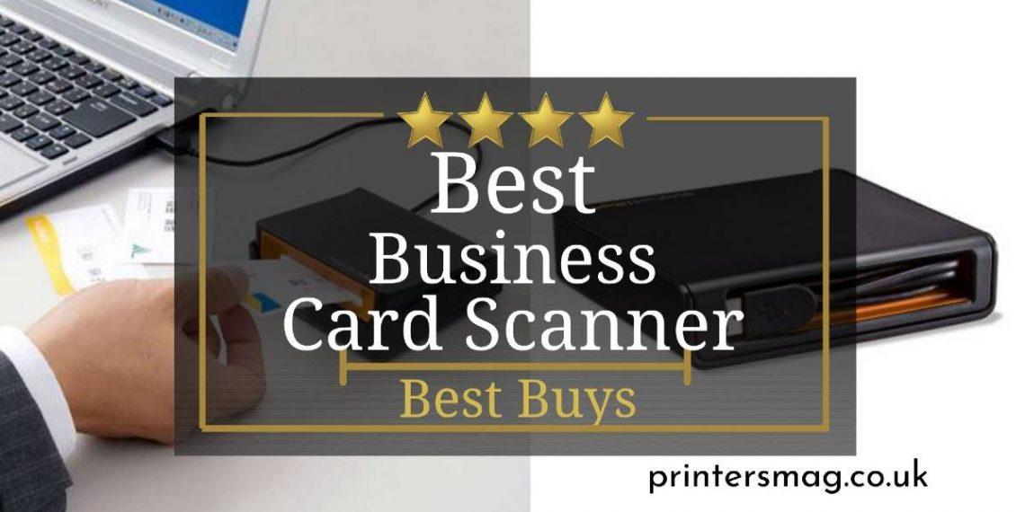 Best Business Card Scanner UK