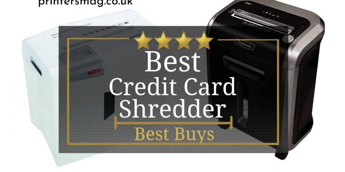 Best Credit Card Shredder UK