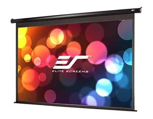 Elite Screens VMAX2, 150-inch Drop, Electric Motorized Drop Down HD Projection Projector Screen Best Portable Projector Screen uk reviews