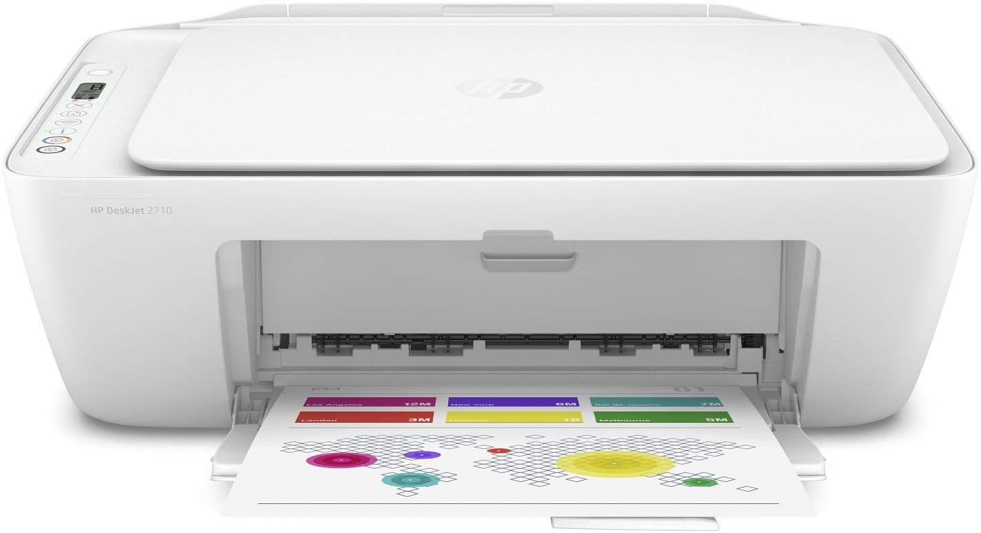 HP 5AR83B DeskJet 2710 All-in-One Printer with Wireless Printing, Instant Ink with 2 Months Trial, White uk reviews