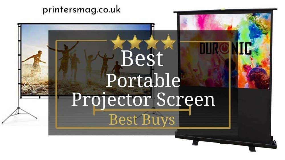 Best Portable Projector Screen UK