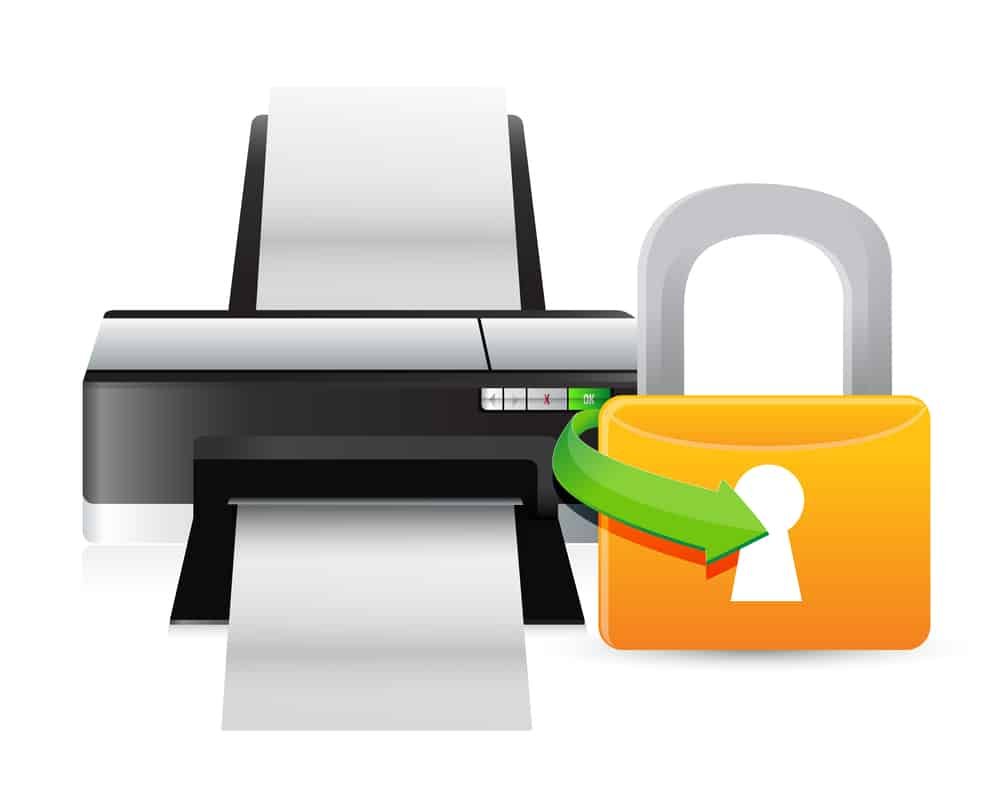 how to protect your printer