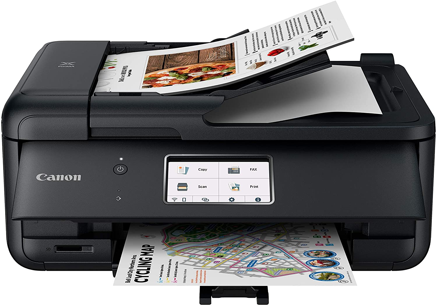 Canon TR8620 All-In-One Printer For Home Office Copier Scanner Fax Auto Document Feeder uk reviews