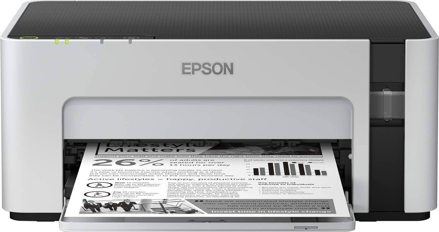 Imprimante Epson Ecotank ET-M1120 Wifi Multifonction uk reviews