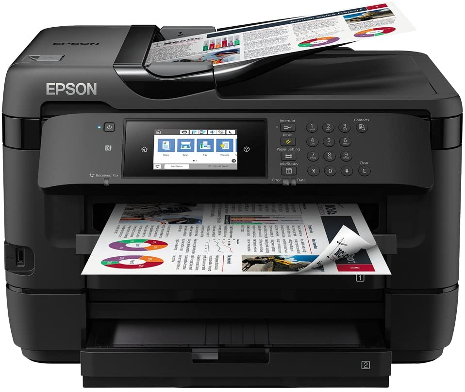 Epson WorkForce WF-7720DTWF Print Scan Copy Fax A3 Wi-Fi Printer, Amazon Dash Replenishment Ready uk reviews