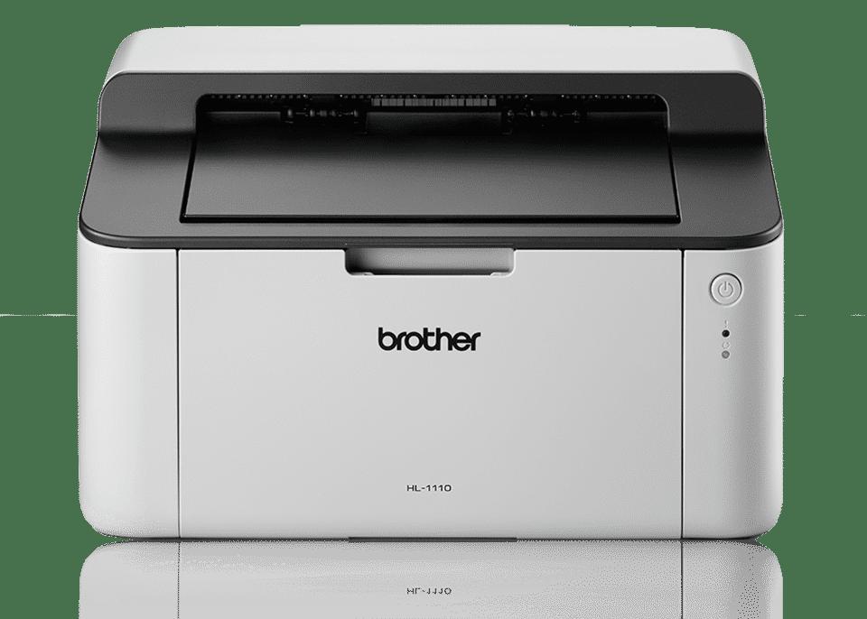 Brother HL-1110 Mono Laser Printer - Single Function, USB 2.0, Compact, 20PPM, A4 Printer, Home Printer uk reviews