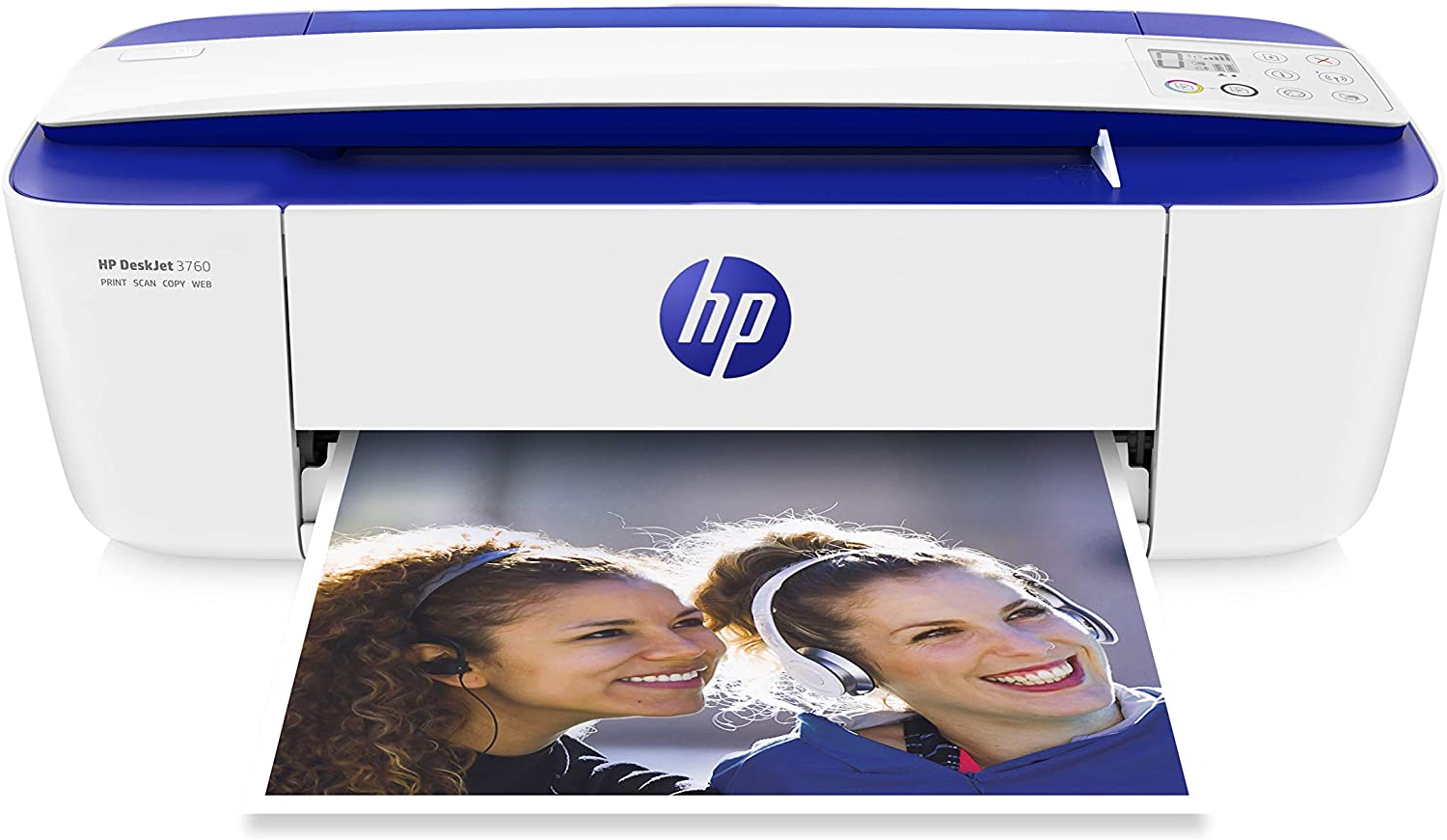 HP DeskJet 3760 All-in-One Printer, Instant Ink with 2 Months Trial, White uk reviews