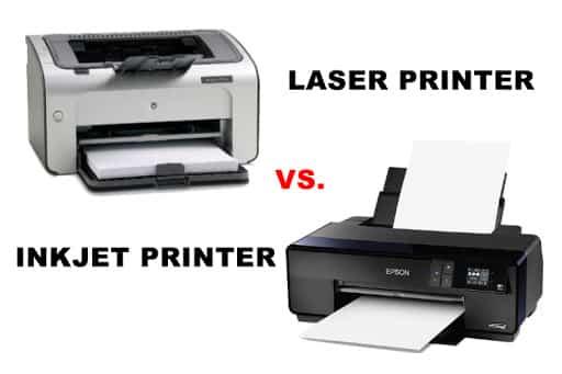 Laser Vs Inkjet Printer, which is better