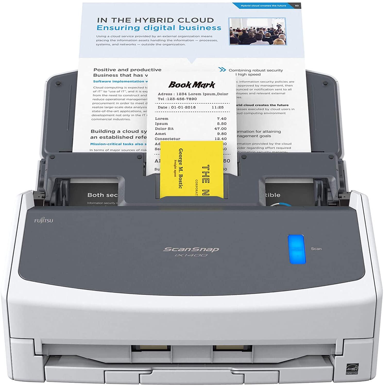 ScanSnap iX1400 Document Scanner – A4, Fast Desktop Scanner