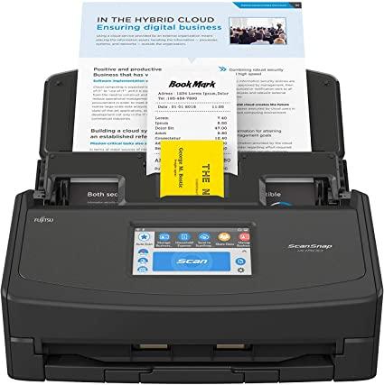 ScanSnap iX1500 Black Document Scanner,
