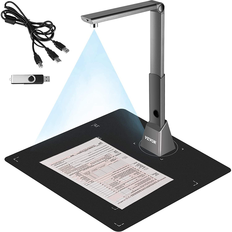 VEVOR Document Camera for Teachers A3 Scanning Size Book Scanner
