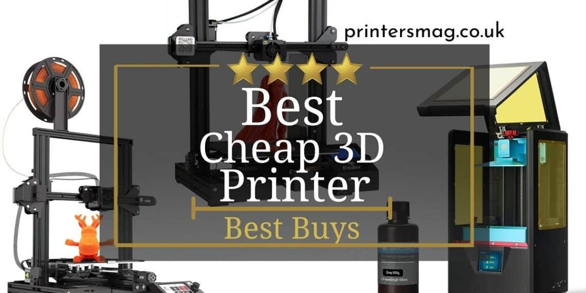 Best Cheap 3D Printer UK
